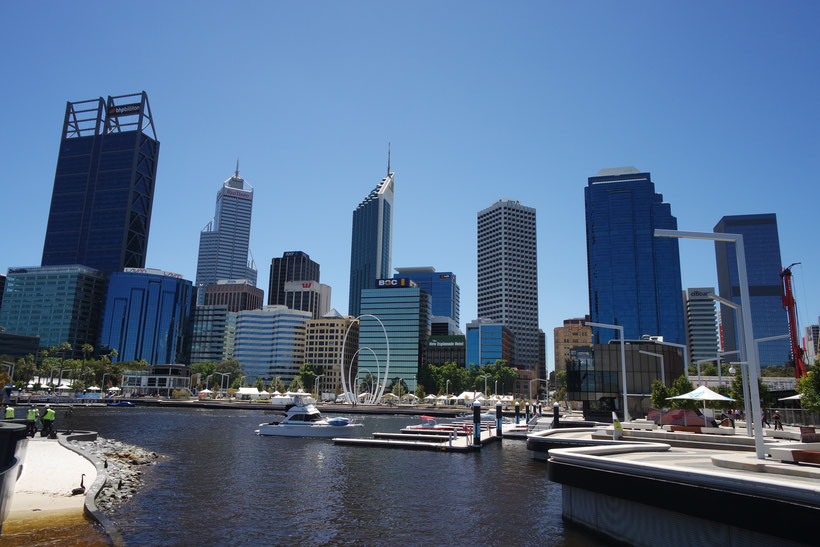 Perth downtown skyline