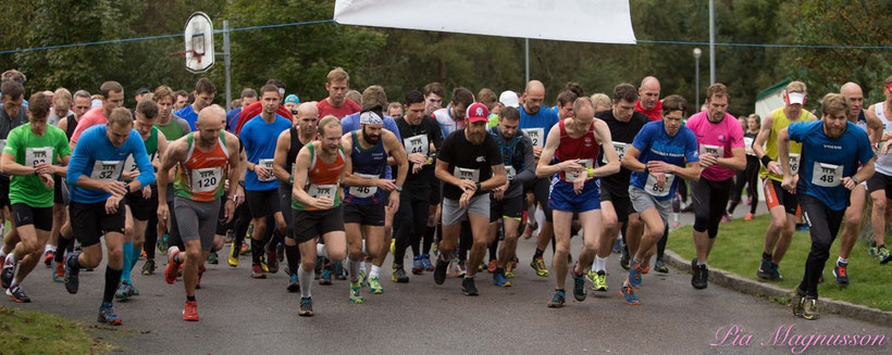 Starten 21,5km 2017