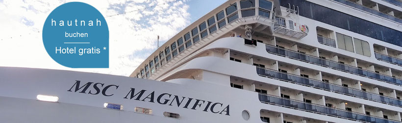 MSC Magnifica in Warnemünde - Kreuzfahrten ab Warnemünde