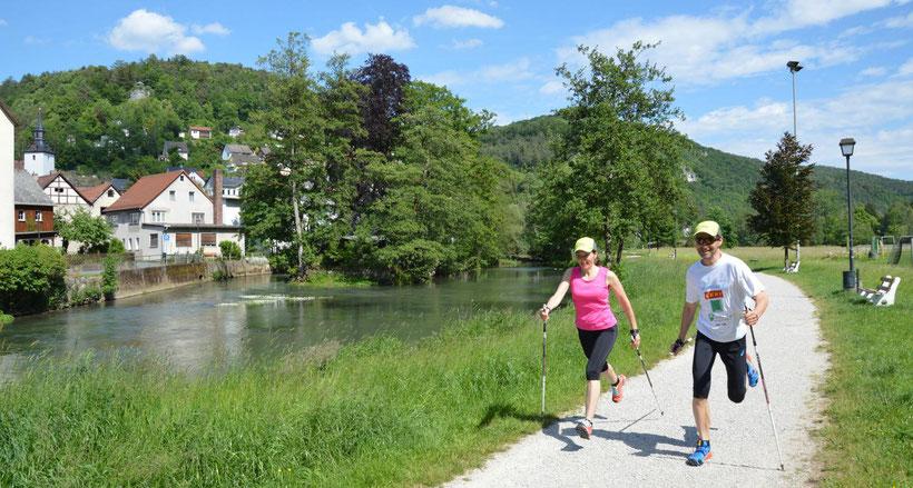 """Motion > Hiking centre & Trail region * Wiesenttal in """"Fränkische Schweiz"""""""
