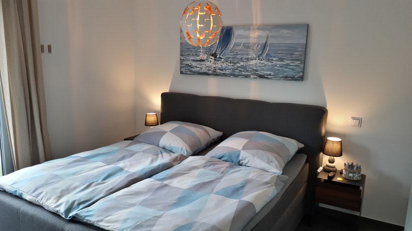 Belia's Home Ferienwohnung Schlafzimmer