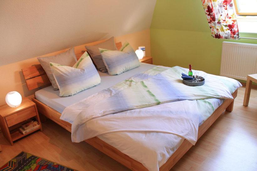 Prerow | Ferienwohnung Buchentraum 1/4 - Schlafzimmer 2