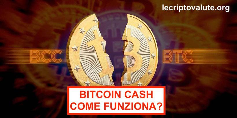 Bitcoin Cash come funziona, prezzo e quotazione
