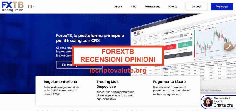 forextb recensioni opinioni guida completa demo gratis commissioni
