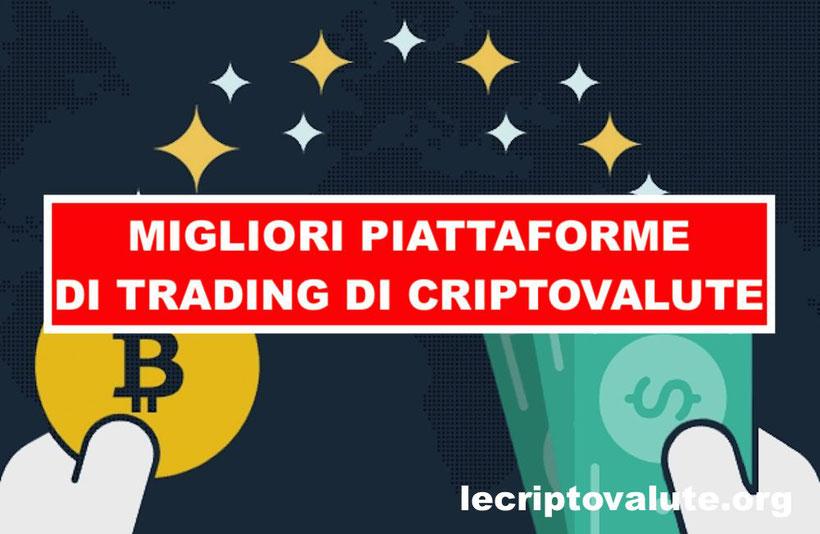 migliori piattaforme criptovalute trading