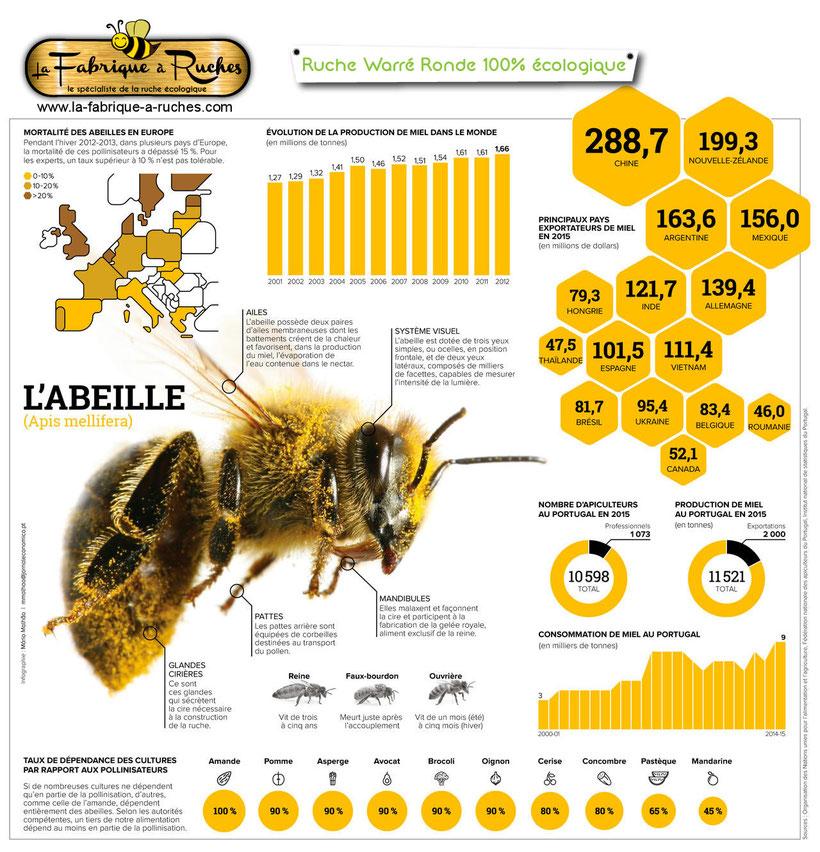 les abeilles en europe