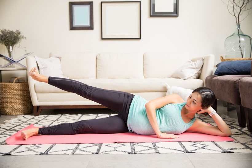 lying lateral leg raise