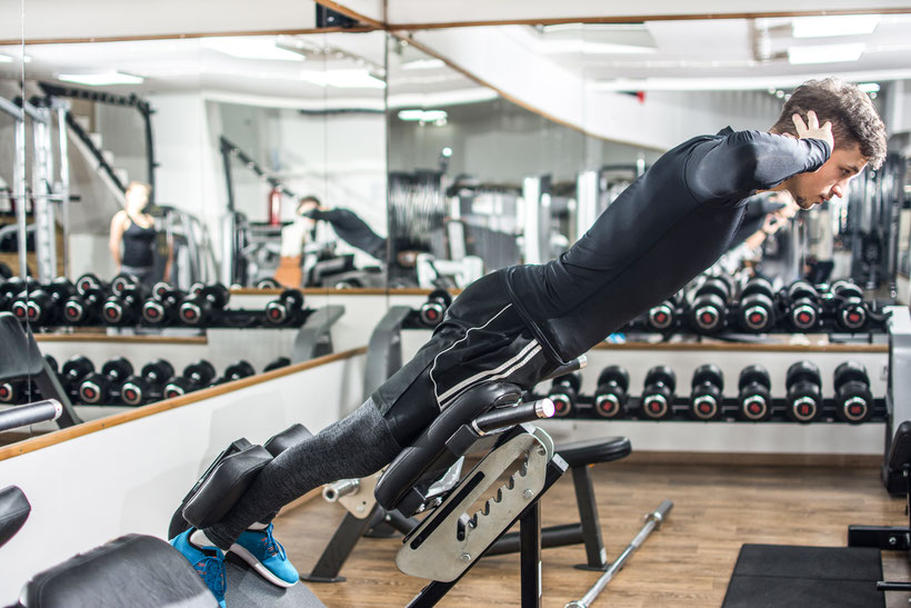 core exercises lower back extension