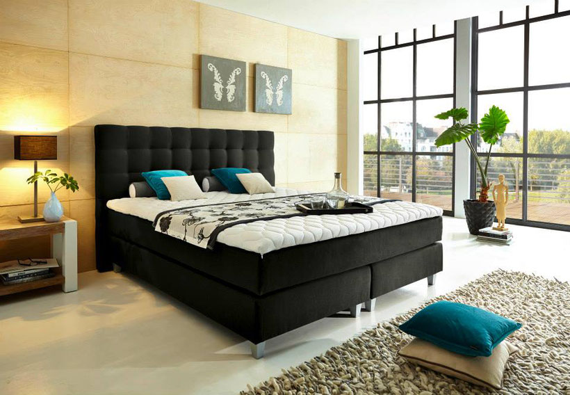 erfahrungen tipps und mehr zu boxspringbetten boxspringbett. Black Bedroom Furniture Sets. Home Design Ideas