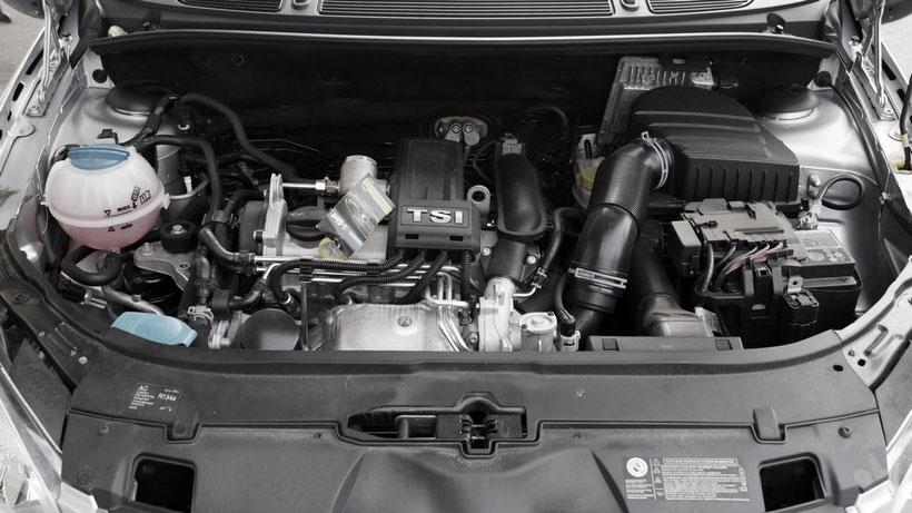 Motoraum - Gebrauchtwagenüberprüfung