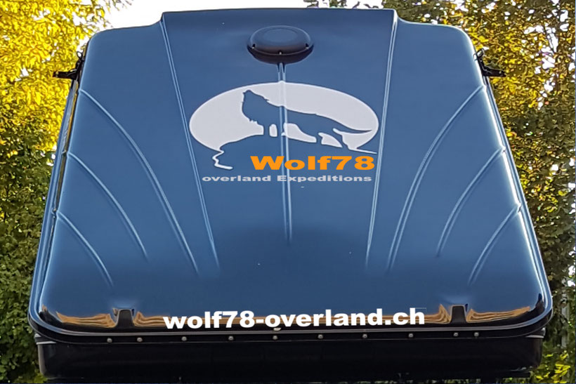 James Baroud Discovery Evolution Black Wolf78 overland Roof top tent Dachzelt Jeep Grand cherokee Toyota Hilux Revo #ProjektBlackwolf
