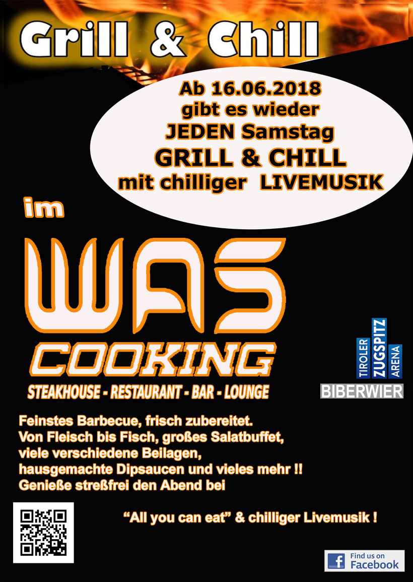 Events - WAS Cooking - Steaks Burger Salads & more...