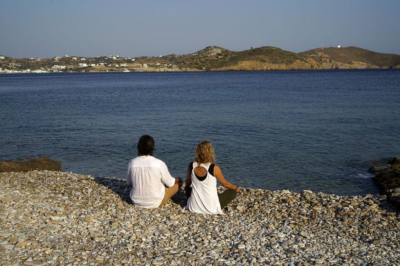 Meditation mit Sandra und Marco