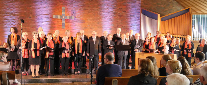 Gemischter Chor im Rechtsrheinischen