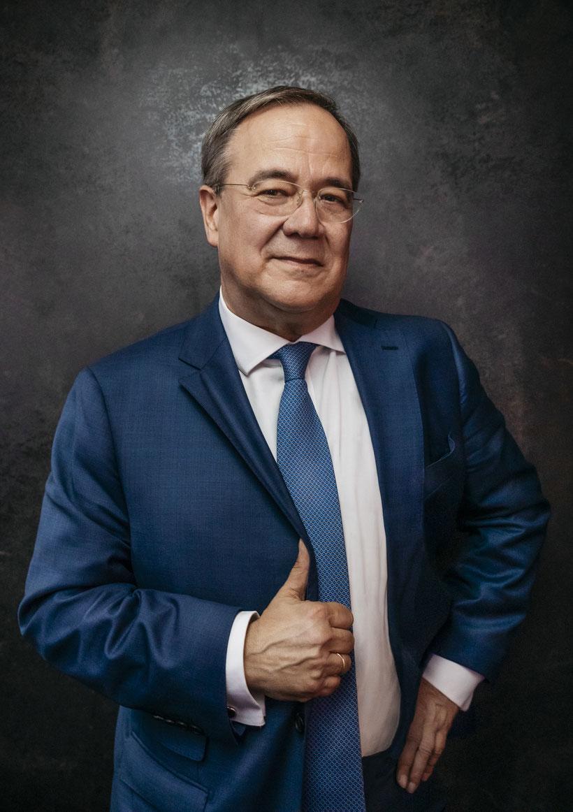 Porträt CDU-Kanzlerkandidat Armin Laschet | ©Anne Hufnagl