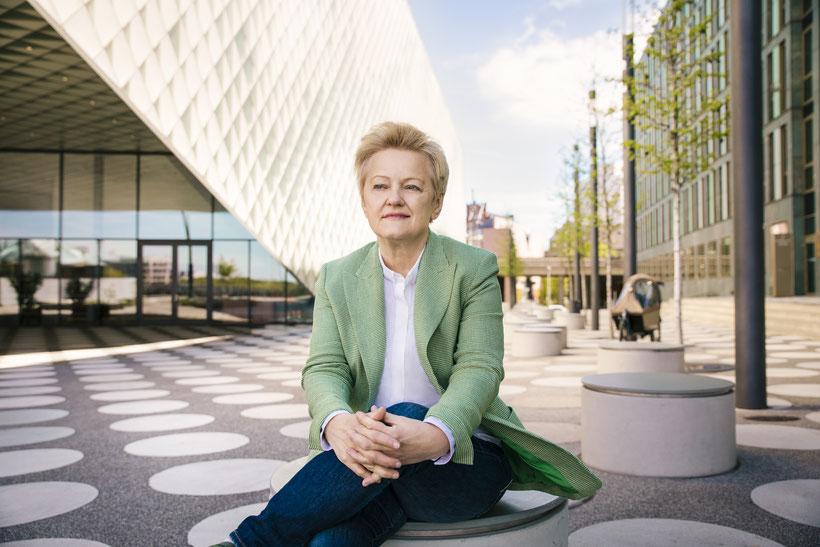 Fotos von Grünen-Politikerin Renate Künast in Berlin | © Anne Hufnagl