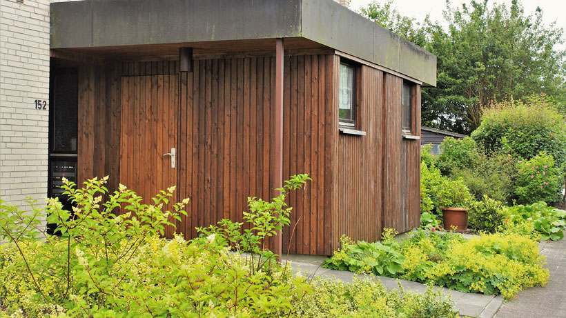 Ferienwohnung Sonnenhook in Hooksiel, Wangerland, Nordsee, 1 Fahrradgarage, abschließbar