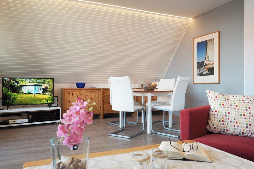 Ferienwohnung Sonnenhook in Hooksiel, Wangerland, 1 Wohnzimmer