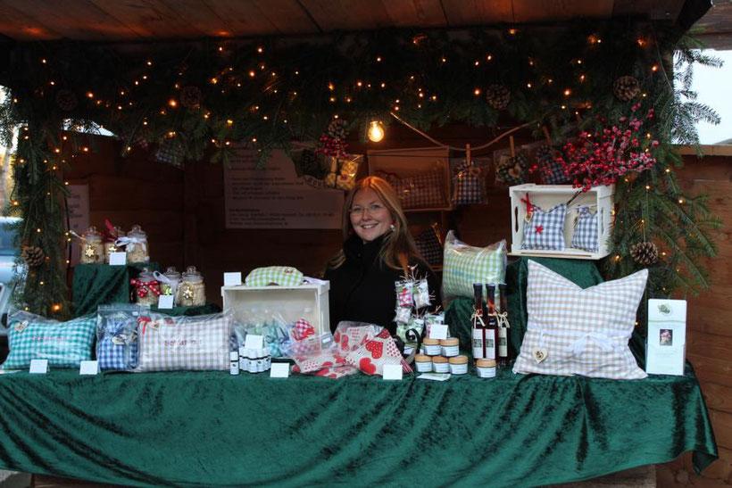Zirbenkissen am Weihnachtsmarkt