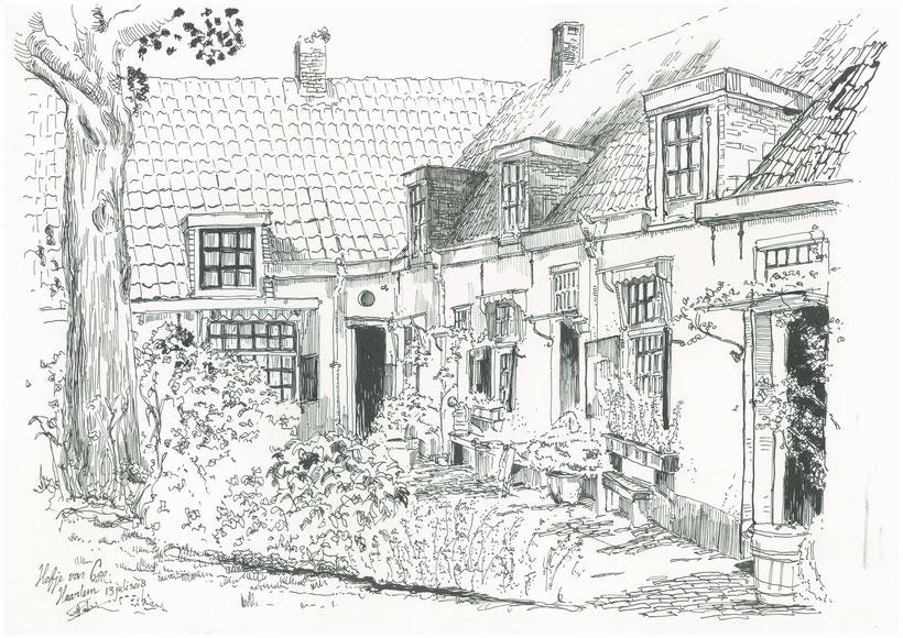 Hofje van Loo in Haarlem