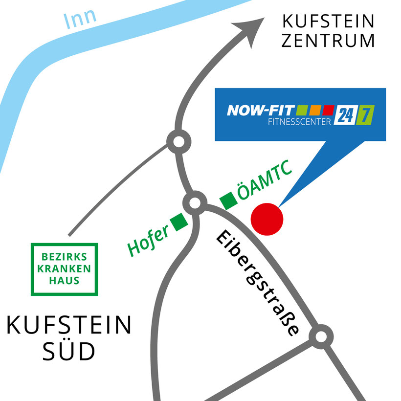 Kufstein Fitnessstudio Now Fit