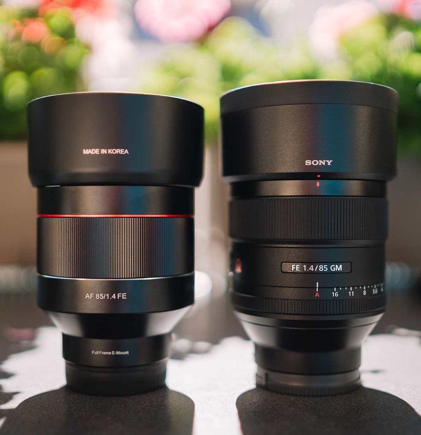 Samyang AF 85mm 1.4 FE vs. Sony 85mm 1.4 GM