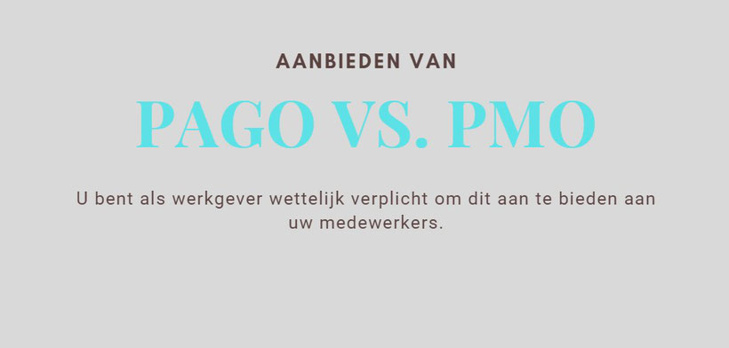 PAGO vs. PMO