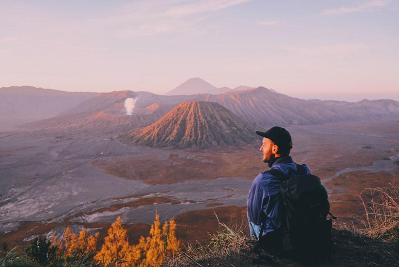 Mount Bromo, zweidiereisen
