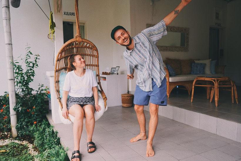 schöne Unterkünfte auf Bali für Backpacker