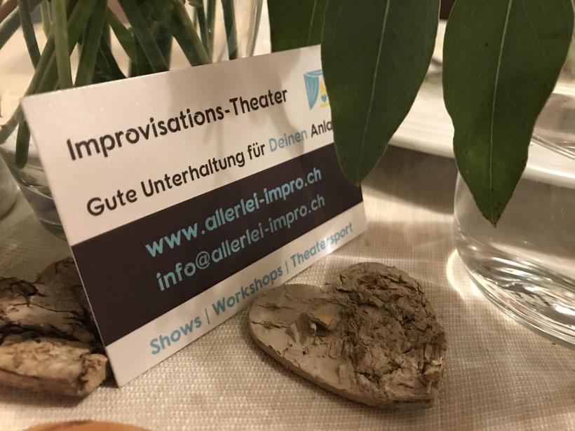 Allerlei Impro Improvisationstheater für Hochzeiten und andere Anlässen