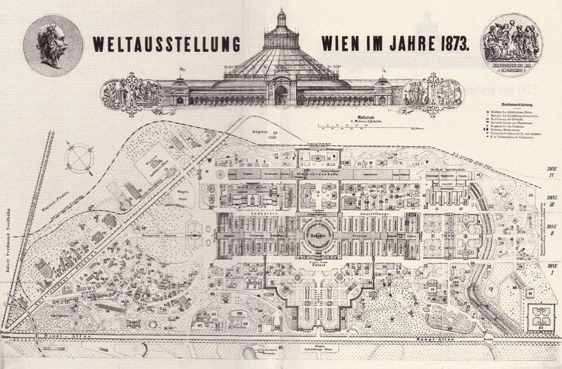 Die Wiener Weltausstellung 1873