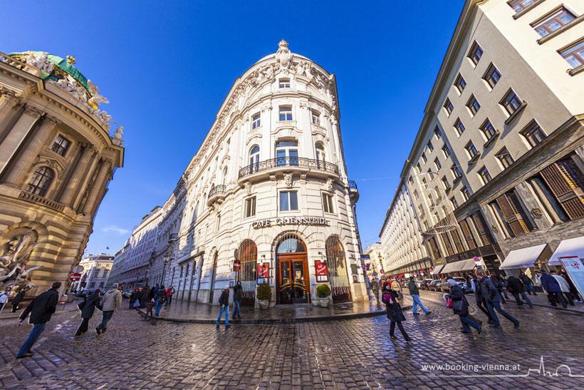 Cafè Griensteidl im Herzen von Wien