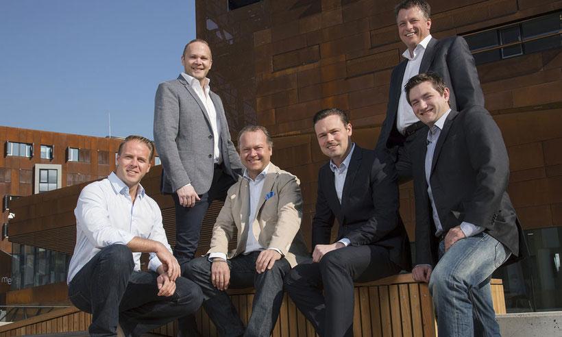 WienWein Winzer, Rainer Christ, Michael Edlmoser, Thomas Huber (Fuhrgassl-Huber), Gerhard J. Lobner (Mayer am Pfarrplatz), Thomas Podsednik (Cobenzl) und Fritz Wieninger