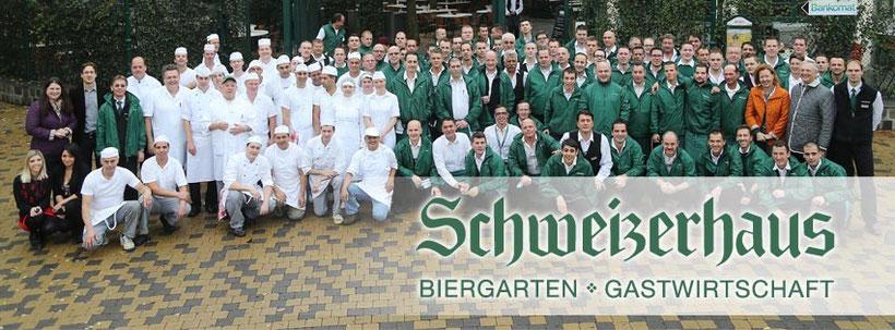Das berühmte Schweizerhaus im Wiener Prater hat vom 15.3. bis 31.10. Saison, günstig Hotel Urania buchen Nähe Prater