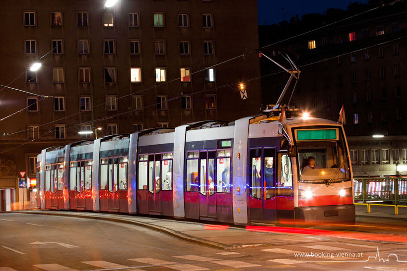 Weihnachten in Wien genießen und mit den Öffentlichen Verkehrsmittel unterwegs sein