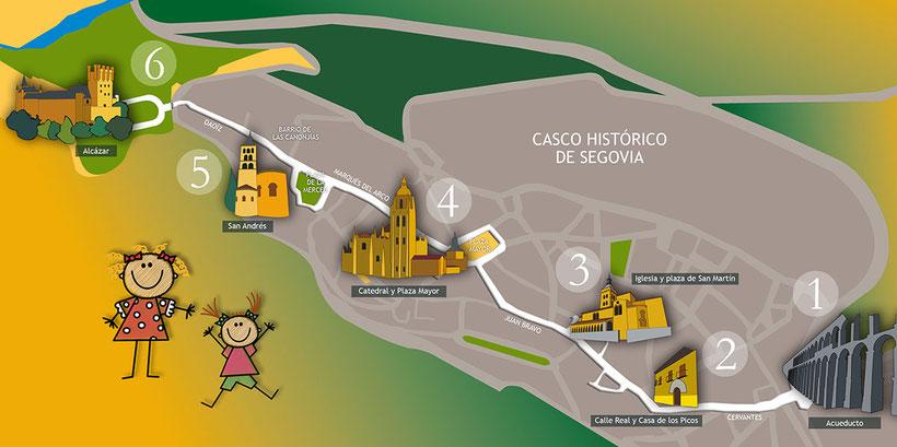 """Visita guiada """"Segovia Patrimonio de la Humanidad"""""""