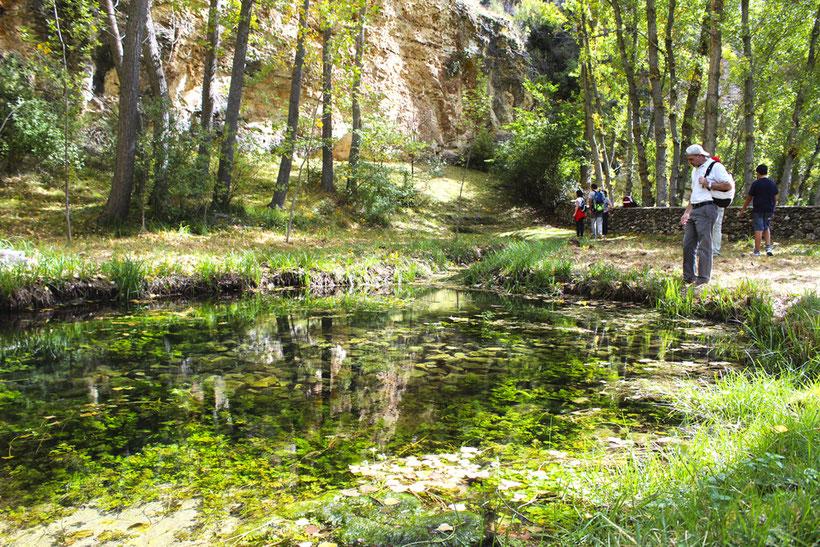 Nacimiento del Río Aguisejo en Segovia