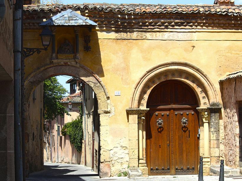 Barrio de las Canonjías en Segovia