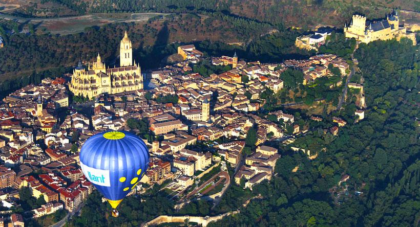 Vuelo globo Segovia