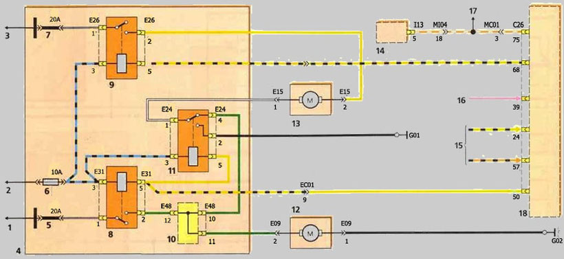 HYUNDAI Accent Wiring Diagrams - Car Electrical Wiring Diagram | Hyundai Accent 2000 Wiring Diagram |  | Car Electrical Wiring Diagram - Jimdo