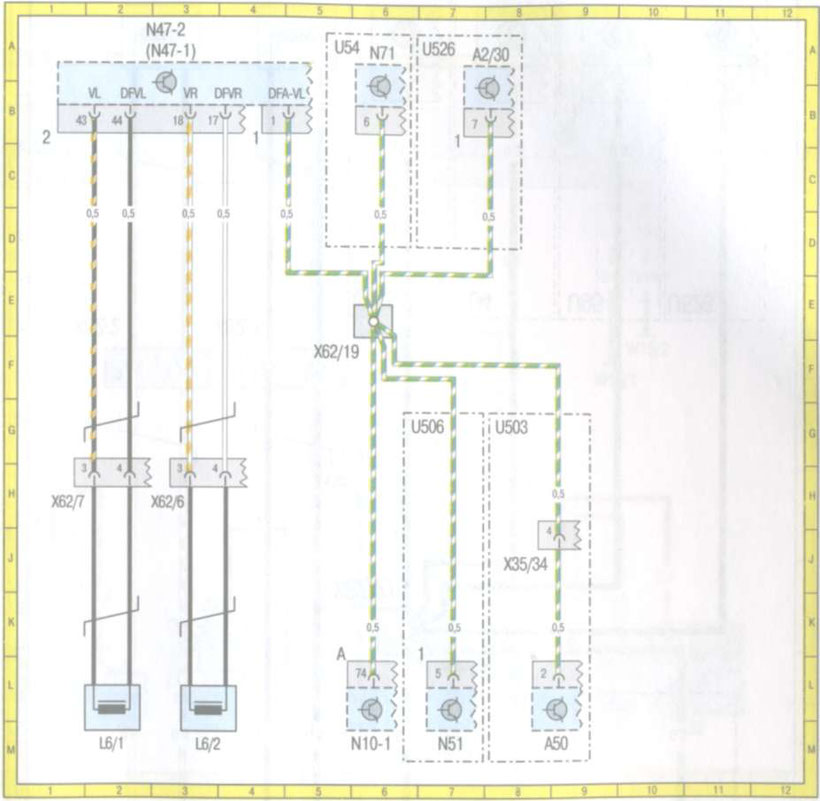 Mercedes W210 Wiring Diagrams