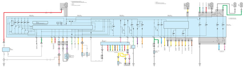 Peugeot 107 Wiring Diagrams