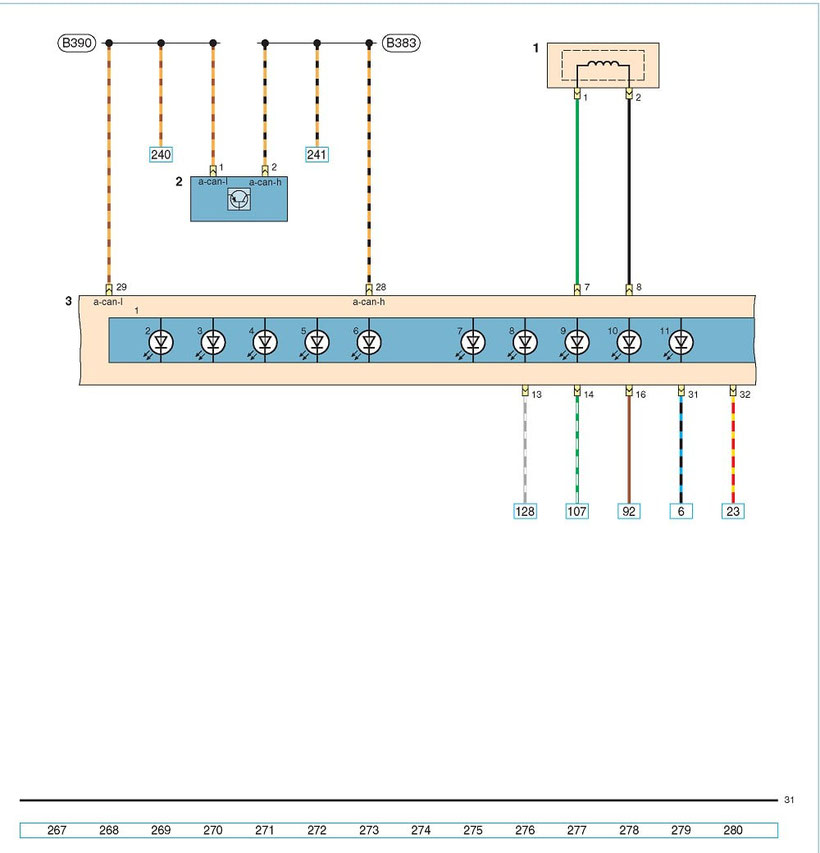 VW POLO Sedan Wiring Diagrams - Car Wiring Schematics