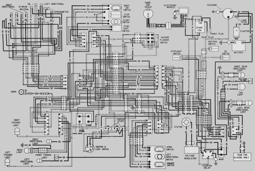 1980-1983 flt schematic diagram of electrical equipment