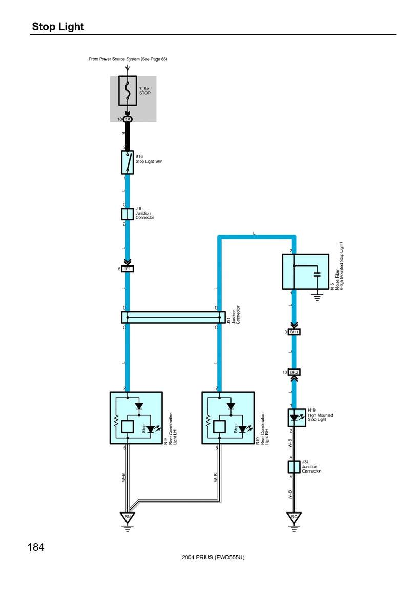 Toyota Prius Wiring Diagrams Car Electrical Wiring Diagram