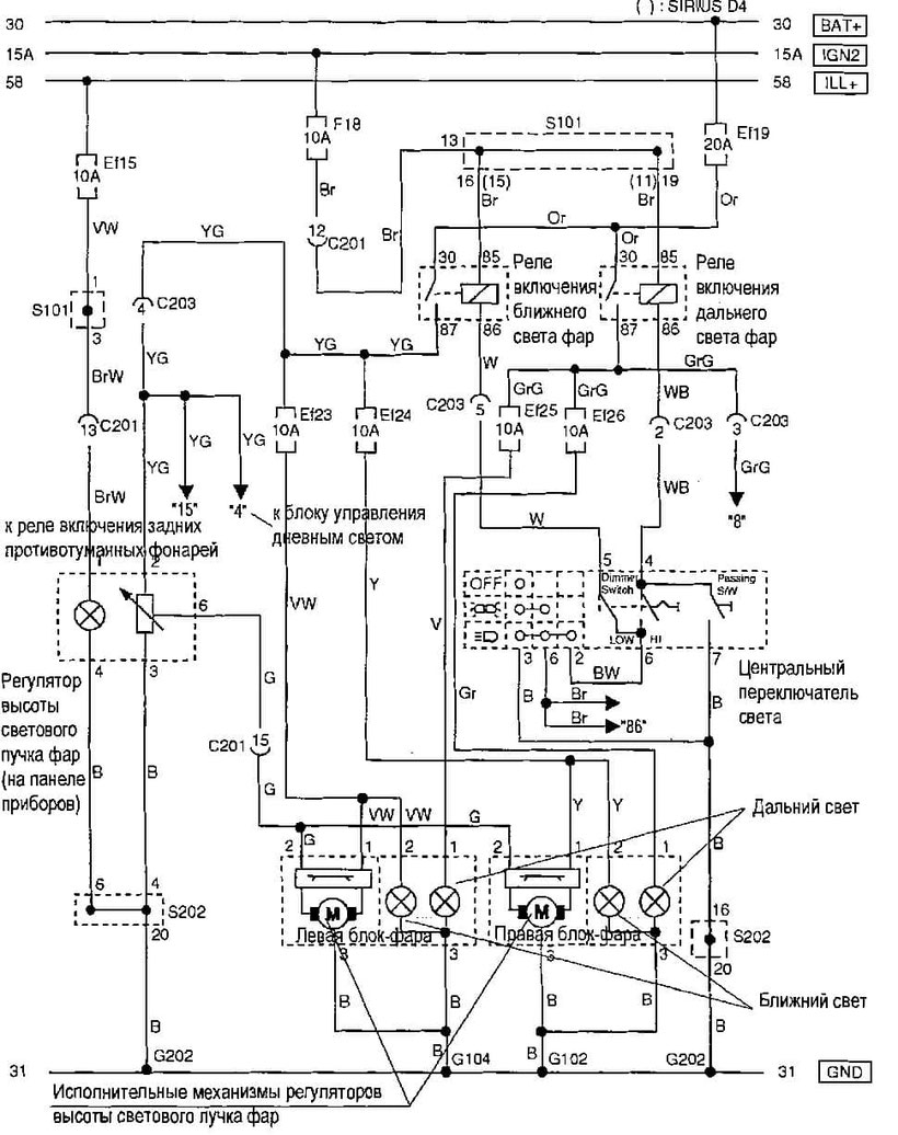 Chevrolet Aveo Wiring Diagrams