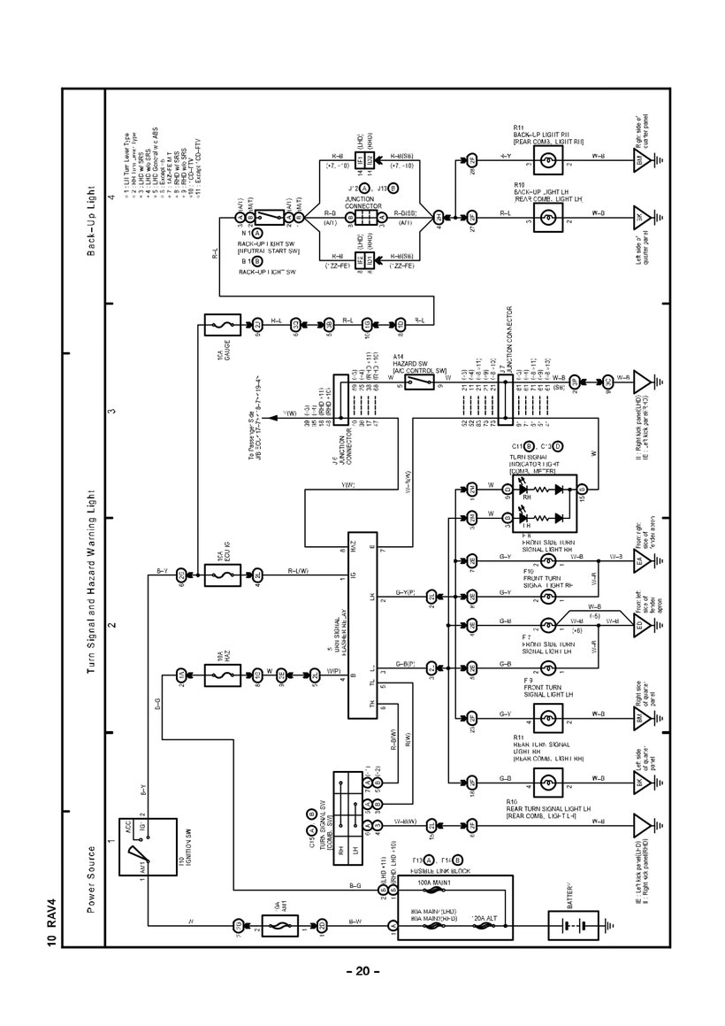 D10eb Toyota Rav4 Wiring Diagrams Wiring Resources