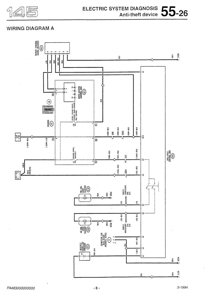 94 Honda Accord Theft Wiring Diagram