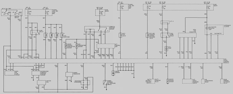 1993-1994 altima engine connection diagram