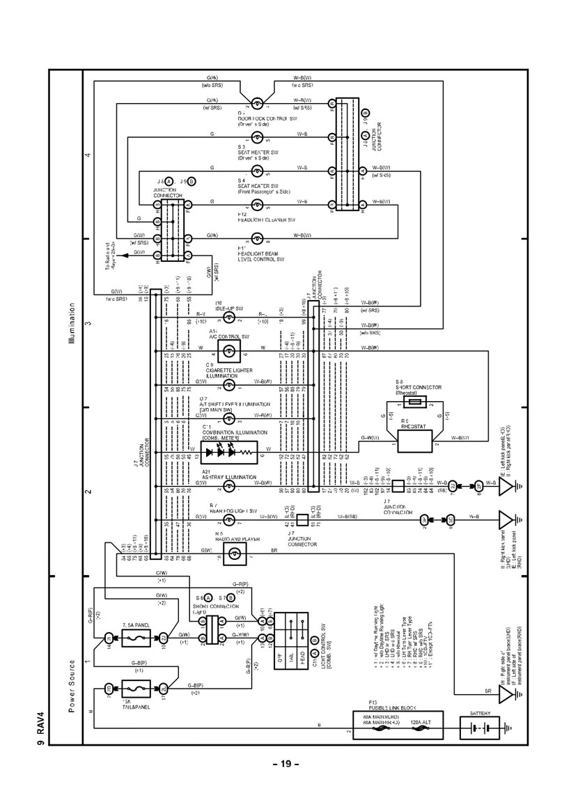 TOYOTA RAV4 Wiring Diagrams - Car Electrical Wiring DiagramCar Electrical Wiring Diagram - Jimdo